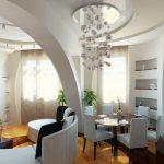 Декорирование стен помещений гипсокартоном