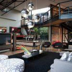 ? Дизайн гостиных загородных домов от Nico van der Meulen Architects