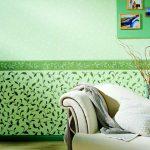 Красивое, стильное комбинирование обоями можно сделать в любой комнате — О Комнате