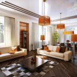 Как создать уникальный дизайн гостиной в частном доме