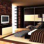 Обои шоколадного цвета в интерьерах квартир