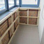 Как сделать обрешетку на лоджии и балконе