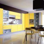 ? Дизайн кухонь в желтой гамме