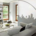 Напольные светильники в гостиной: от винтажных до современных