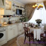 Как сшить занавески для кухни в стиле прованс своими руками