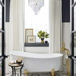 Love it! Черно-белое оформление ванной от SuzAnn Kletzien