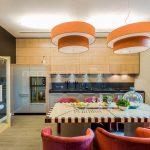? Современный дизайн интерьера кухни-столовой 20 кв.м.