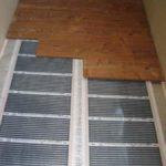 Теплый пол на балконе и лоджии под ламинат