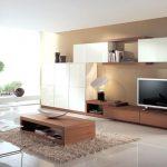 Современный дизайн гостиной в стиле минимализм