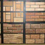 Терракотовый вид плитки для облицовки камина и печи