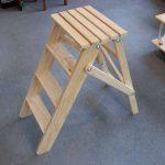 Деревянный табурет-стремянка своими руками. Инструкция по изготовлению