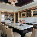 ? Стиль арт-деко на кухне: 55 вариантов дизайна, лучшие фото и идеи