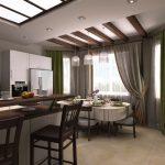 Секреты дизайна кухни с эркером — О Комнате