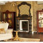 Варианты оформления дизайна гостиной с камином