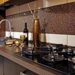 Отличный выйдет фартук для кухни из плитки своими руками — О Комнате