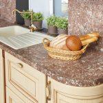 👍 Кухонный фартук из искусственного камня