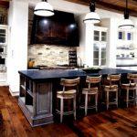 Интерьер и дизайн кухни в частном доме (39 фото)