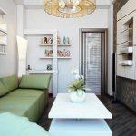 Как сделать дизайн зала в 16 квм?