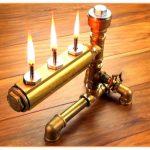 Самоделка: масляный стимпанк-светильник из подручных материалов