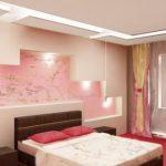 Розовые обои: какие шторы лучше с ними сочетаются