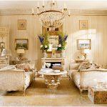 Как разработать интерьер гостиной в стиле ампир?