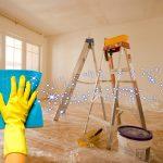 Основные правила уборки после ремонта