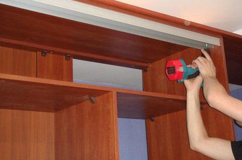 ремонт шкафов купе